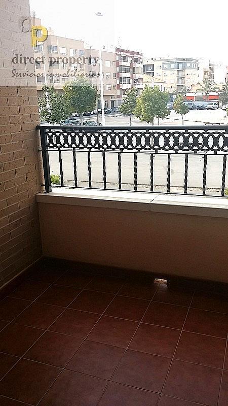 Terraza - Piso en alquiler en calle Alcudia, Torrellano - 222377397