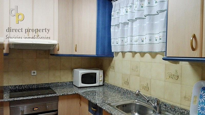 Cocina - Piso en alquiler en calle Músico Juan la Torre Baeza, El Palmeral - Urbanova - Tabarca en Alicante/Alacant - 226656260