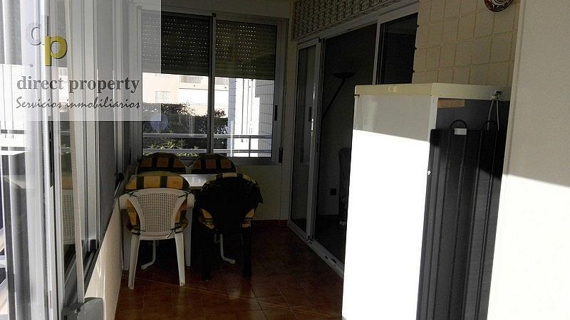Terraza - Piso en alquiler en calle Músico Juan la Torre Baeza, El Palmeral - Urbanova - Tabarca en Alicante/Alacant - 226656274