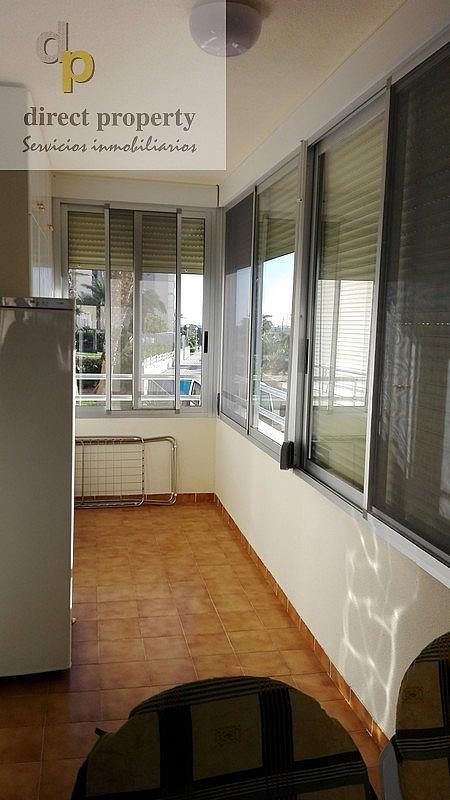 Terraza - Piso en alquiler en calle Músico Juan la Torre Baeza, El Palmeral - Urbanova - Tabarca en Alicante/Alacant - 226656276