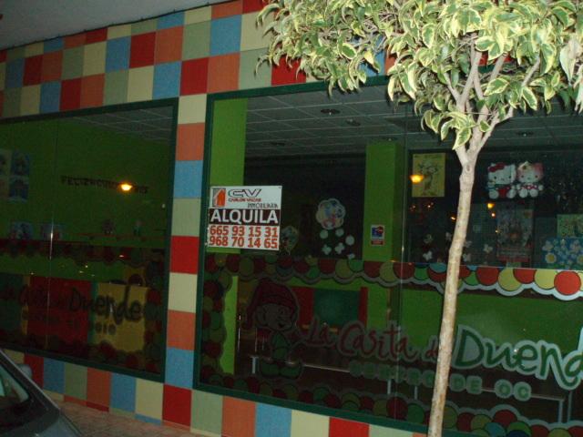 Local comercial en alquiler en calle Pintor Blas Rosique, Caravaca de la Cruz - 121970781
