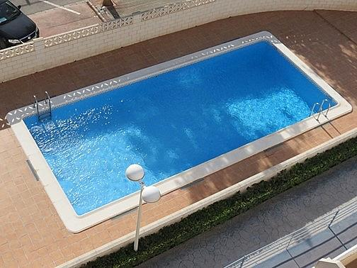 Piscina - Apartamento en alquiler en Raco de Mar-Playa de Canet en Canet d´En Berenguer - 316744483