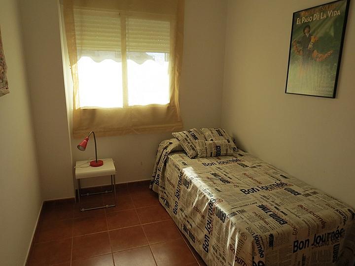 Dormitorio - Apartamento en alquiler en Raco de Mar-Playa de Canet en Canet d´En Berenguer - 316744491