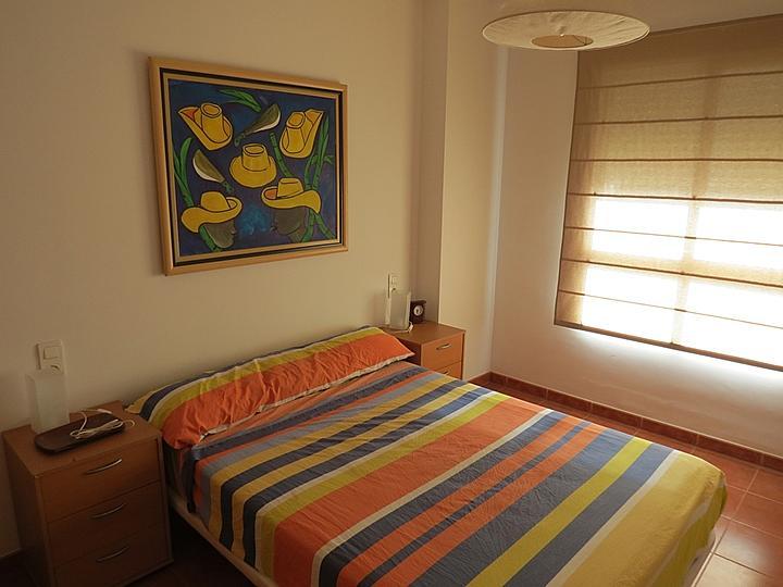 Dormitorio - Apartamento en alquiler en Raco de Mar-Playa de Canet en Canet d´En Berenguer - 316744497