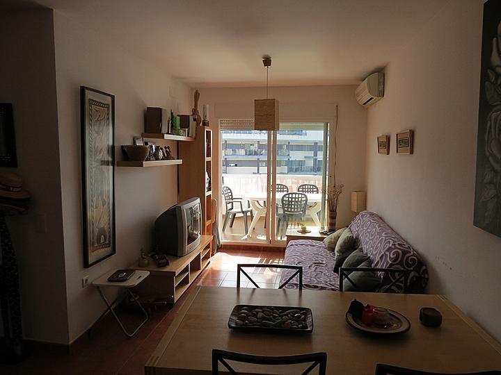 Salón - Apartamento en alquiler en Raco de Mar-Playa de Canet en Canet d´En Berenguer - 316744664