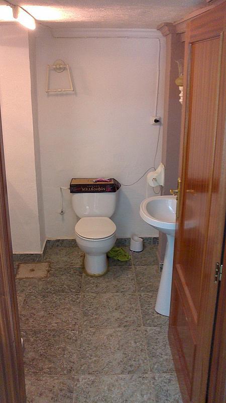 Baño - Local comercial en alquiler en calle Catarroja, Catarroja - 141540214