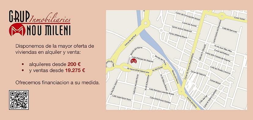 Piso en alquiler opción compra en calle De Marzo, Benetússer - 168334928