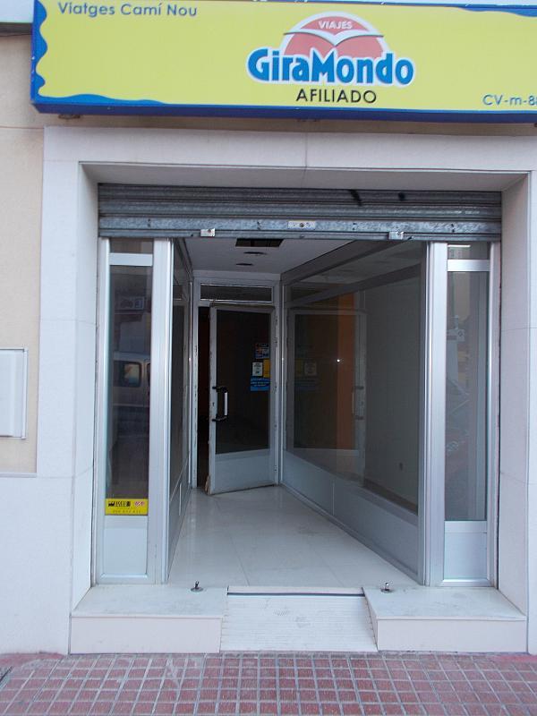 Local comercial en alquiler en calle Cami Nou, Benetússer - 178511485