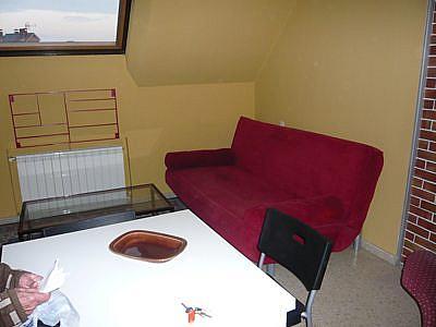 Salón - Apartamento en alquiler en calle Padre Aller, Vallobin-La Florida-Las Campas en Oviedo - 189428656