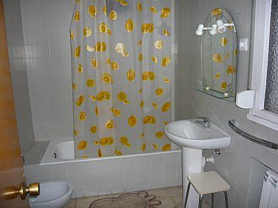 Baño - Apartamento en alquiler en calle Padre Aller, Vallobin-La Florida-Las Campas en Oviedo - 189428664