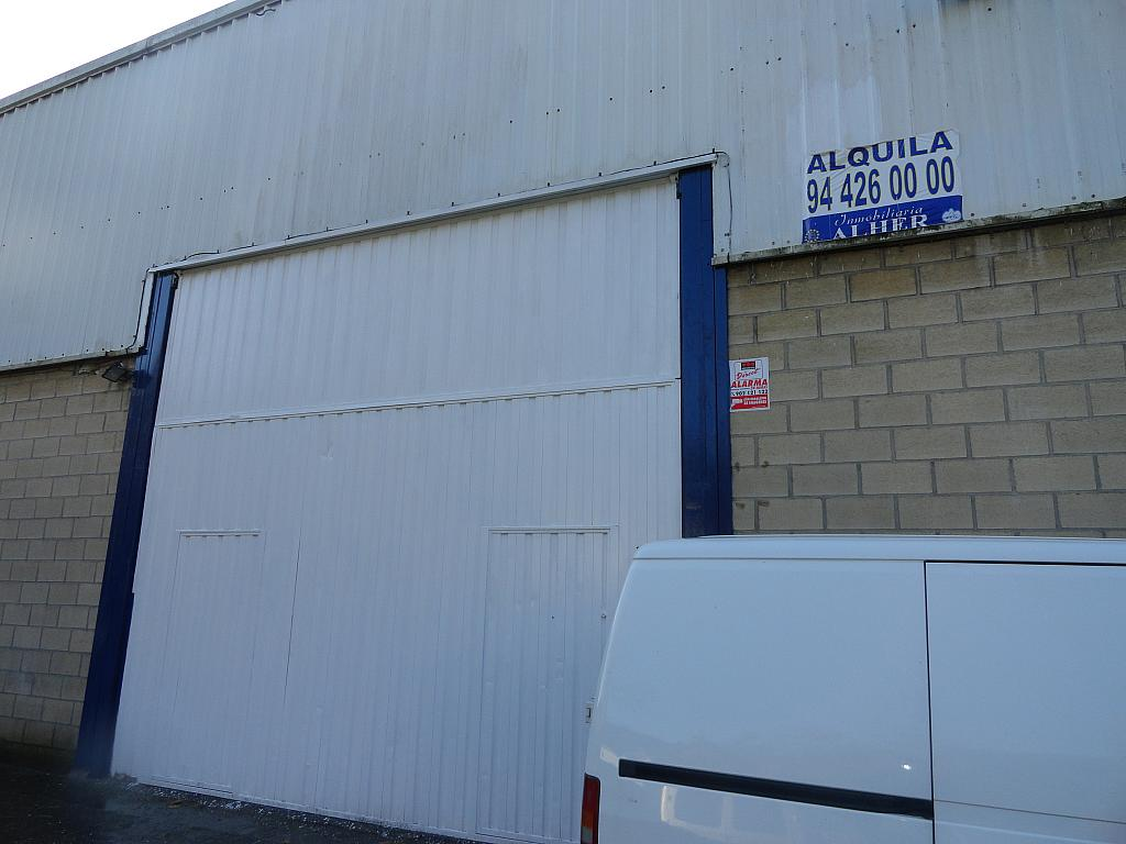 Fachada - Nave industrial en alquiler en polígono Legizamón, Etxebarri - 295779480