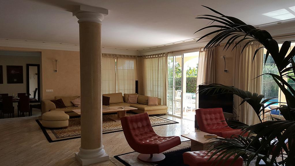 Villa en alquiler de temporada en urbanización Sierra Blanca, Nagüeles Alto en Marbella - 302234084