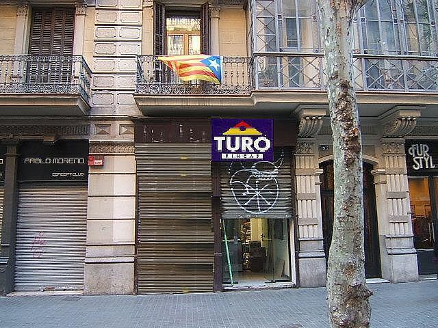 Imagen del inmueble - Local comercial en alquiler en calle De València, Eixample esquerra en Barcelona - 226192523