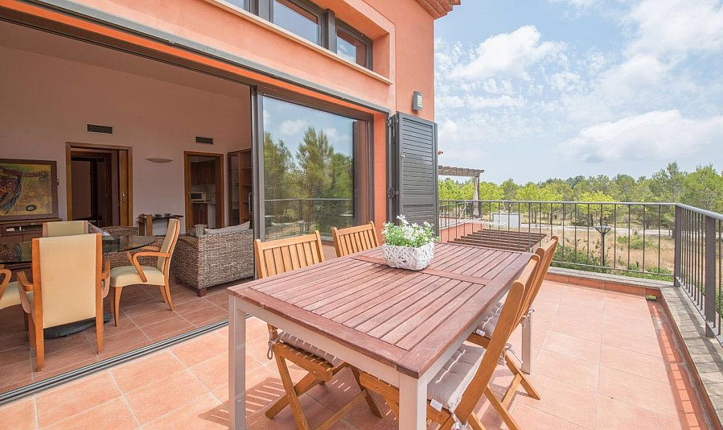 Terraza - Piso en alquiler en urbanización Bonmont, Mont-Roig del Camp - 316012602