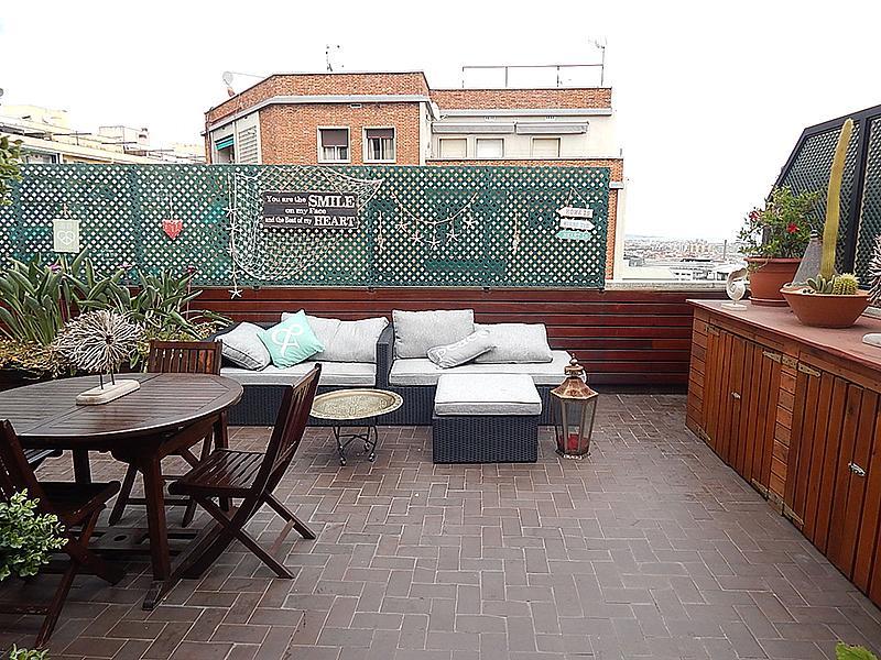 Ático en alquiler en calle Castillejos, El Baix Guinardó en Barcelona - 323060237