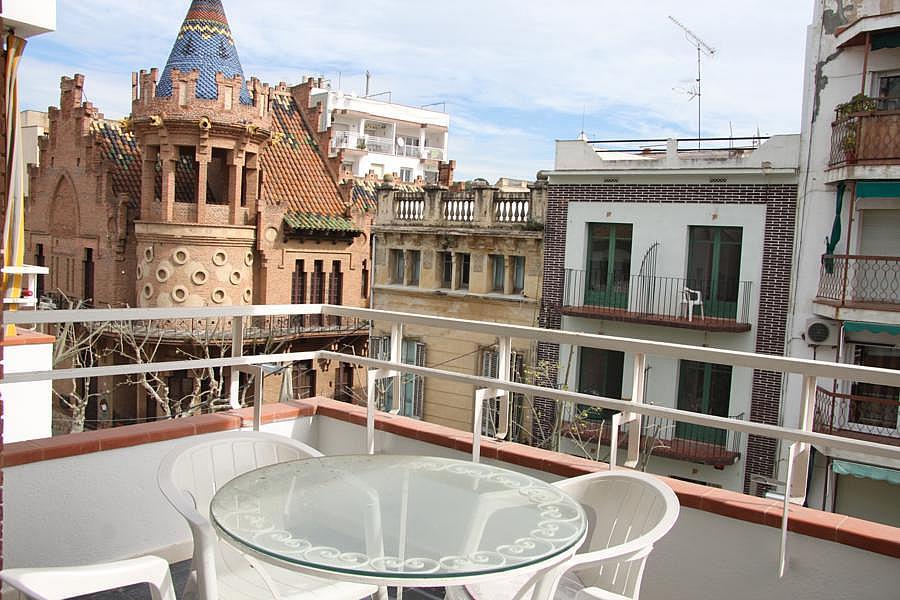 Terraza - Piso en alquiler en calle Centro, Canet de Mar - 259302585