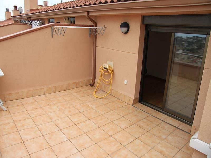 Terraza - Dúplex en alquiler en calle Riera Buscarons, Canet de Mar - 343463814
