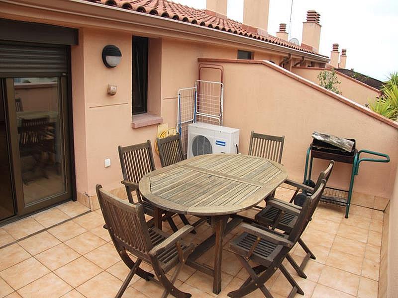 Terraza - Dúplex en alquiler en calle Riera Buscarons, Canet de Mar - 343463826