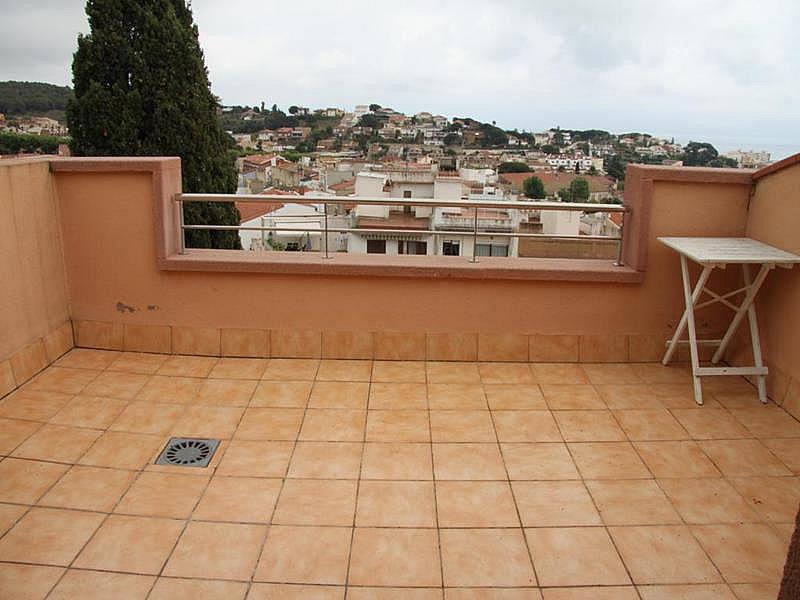 Terraza - Dúplex en alquiler en calle Riera Buscarons, Canet de Mar - 343463828