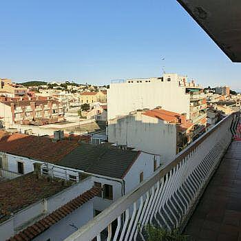 Balcón - Piso en alquiler en calle Canet de Mar, Canet de Mar - 243320772