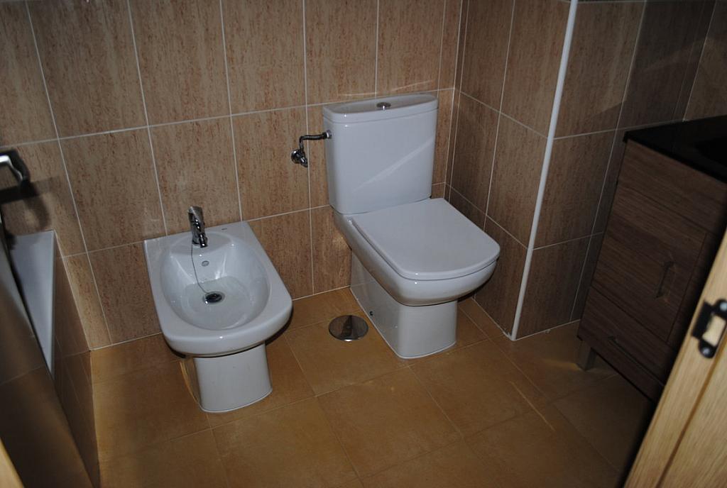 Baño - Dúplex en alquiler en calle Toledo, Casarrubios del Monte - 254189686