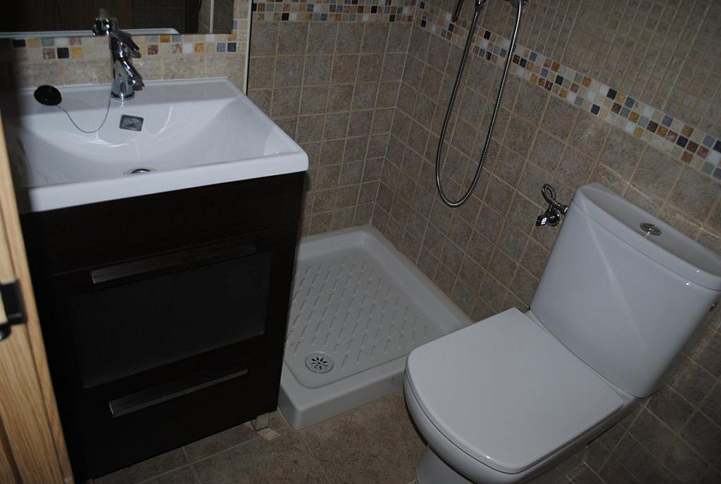 Baño - Dúplex en alquiler en calle Toledo, Casarrubios del Monte - 254189702