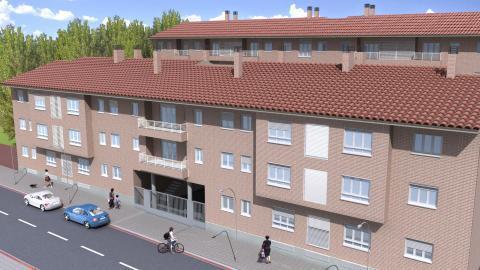 Fachada - Piso en alquiler en calle General Varela, Nucleo Urbano en Camarena - 59729264