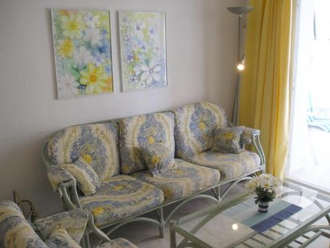 Salón - Apartamento en venta en calle Juan Carlos I, Calpe/Calp - 21470913