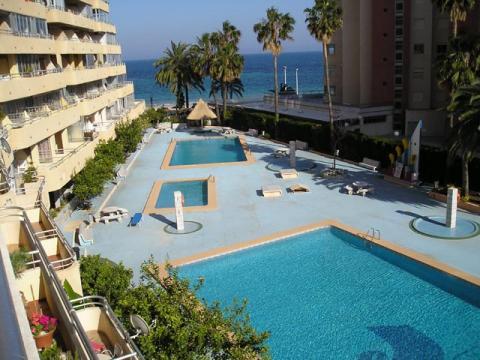 Piscina - Apartamento en venta en calle Juan Carlos I, Calpe/Calp - 21470921