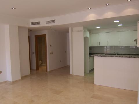 Salón - Apartamento en venta en calle Mar y Toix, Calpe/Calp - 33640303