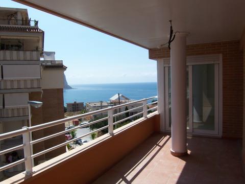 Terraza - Apartamento en venta en calle Mar y Toix, Calpe/Calp - 33640359