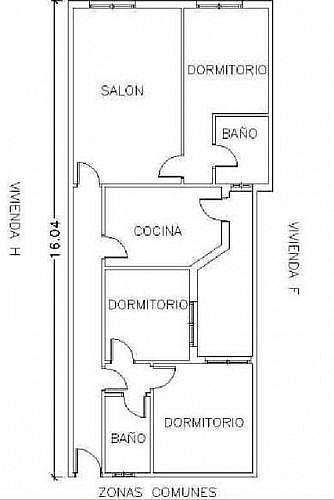 - Piso en alquiler en calle Valencia, Santa Maria del Aguila - 286856268