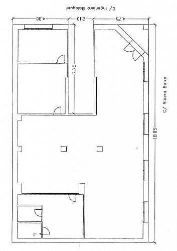 - Local en alquiler en calle Balaguer, Carlet - 188271146