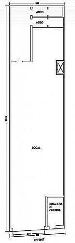 - Local en alquiler en calle Font, La Florida en Hospitalet de Llobregat, L´ - 188272937