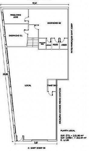 - Local en alquiler en calle San Josep, Manresa - 188273030