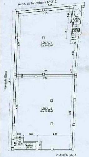 - Local en alquiler en calle Pedania, Villarrubio - 188273087
