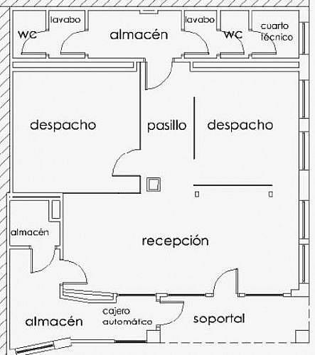 - Local en alquiler en calle Juan Yague, Salas de los Infantes - 210640801