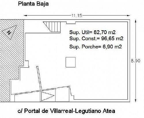 - Local en alquiler en calle De Legutiano, Coronacion en Vitoria-Gasteiz - 188275583