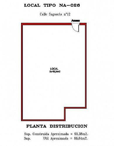 - Local en alquiler en calle Concejo de Sagaseta, Pamplona/Iruña - 210641560