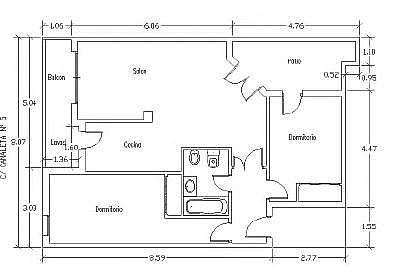 - Piso en alquiler en calle Canaleta, Inca - 276658338