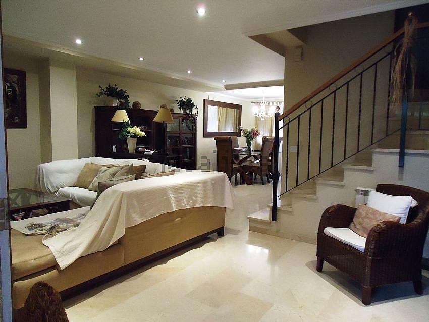 Salón - Casa adosada en alquiler en urbanización Villas del Tenis, Rocafort - 361138091