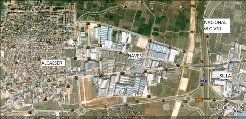 Nave industrial en alquiler en calle Argenters, Alcàsser - 28851342