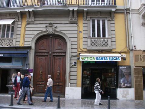 Oficina en alquiler en calle Lauria, Valencia - 42043296
