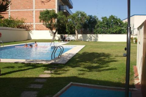 Piscina - Apartamento en venta en paseo Miramar, Centro en Torredembarra - 41208922