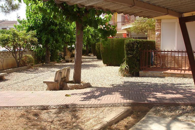 Jardín - Apartamento en venta en calle Julio Cesar, Racó del cèsar en Creixell - 87742664