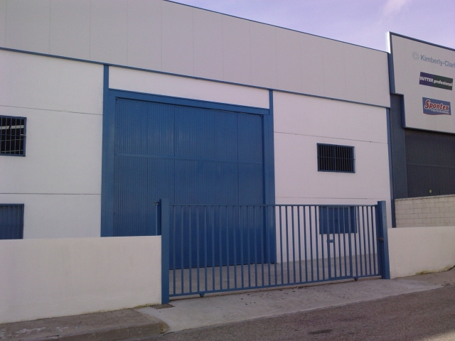 FACHADA - Nave industrial en alquiler en Coria del Río - 21596181