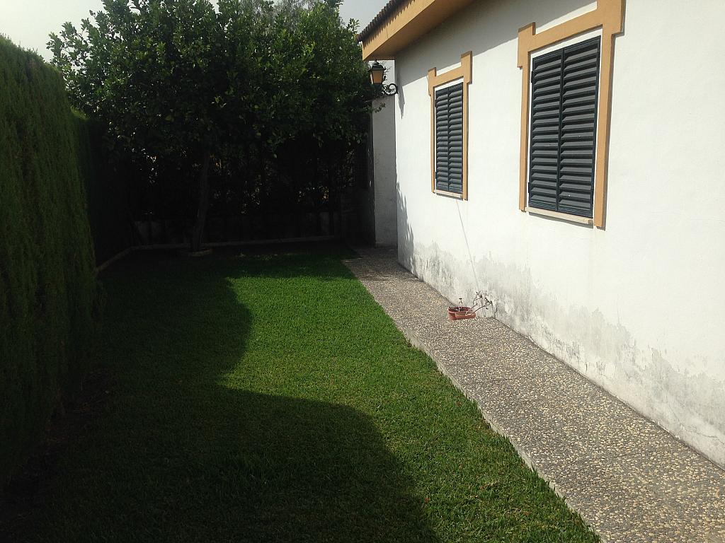 Jardín - Chalet en alquiler en Aznalcázar - 207313771