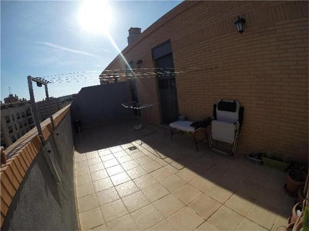 Terraza - Ático-dúplex en alquiler en calle Barcelona, Parc Central en Torrent - 226919814
