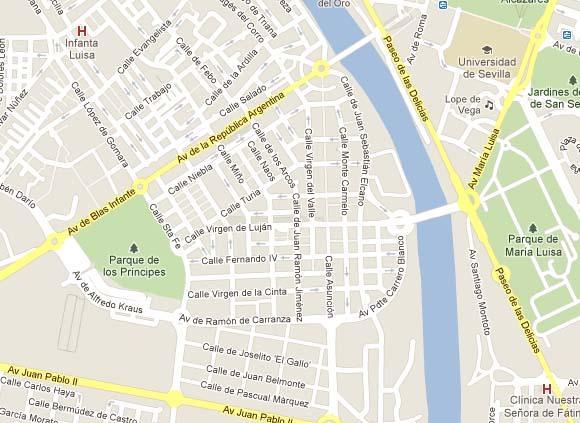 Plano - Local en alquiler en calle Los Remedios, Los Remedios en Sevilla - 56147484