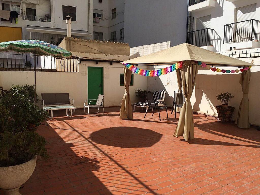 Terraza - Piso en alquiler en calle Pintor Salvador Abril, Russafa en Valencia - 242701016